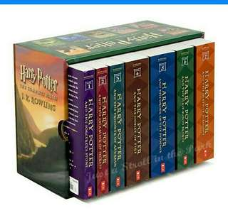 (ebook) harry potter series by jk rowling