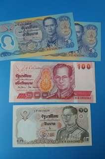 早期泰國鈔