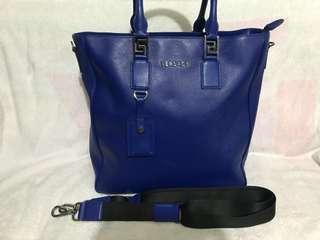 Versace 全牛皮 2ways bag