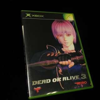 🚚 Dead or Alive 3 Xbox