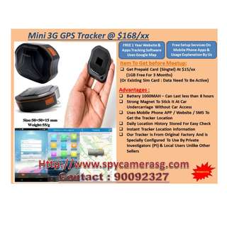 Mini Tracker Gps  3G