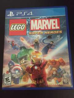 PS4 LEGO Marvel Super Heroes (Used)