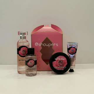 British Rose Gift Set Small Ramadhan The Body Shop