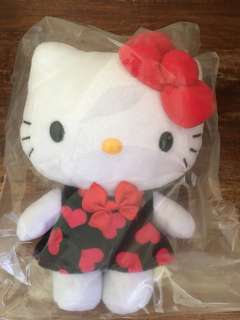 Hello Kitty Plush Toy Limited Valentines Edition
