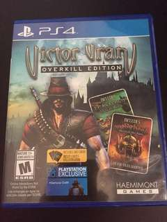 PS4 Victor Vran Overkill Edition (Used)