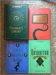 (Ebook) 3ebooks - The Hogwarts Library by Jk rowling