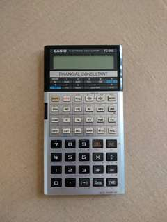 Casio FC-200 Calculator