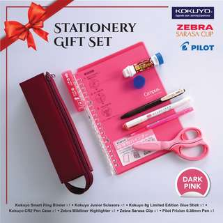 STATIONERY GIF SET Value Pack - DARK PINK SERIES