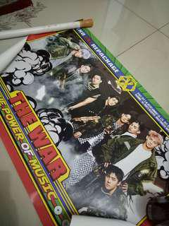 """Official Poster EXO 4th Album Repackage """"Power"""""""