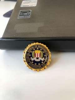 美國 FBI襟章