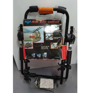 Foldable bicycle rack