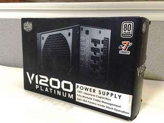 Cooler Master V1200 Power Supply Unit (80 Plus Platinum) 1200W PSU