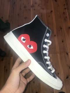 Cdg high top BLACK
