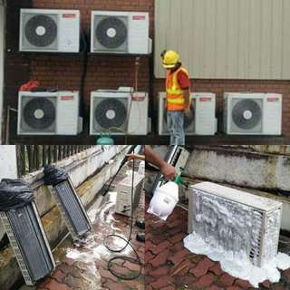 SERVICES AND INSTALLATION AIRCOND