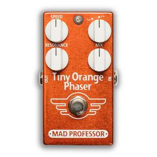 Mad Professor Tiny Orange Phaser Effect Pedal