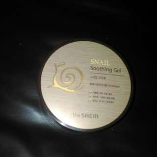 Snail soothing gel