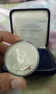 卖一枚malaysia proof coin rm25的 值得收藏