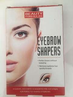 Eyebrow shapers