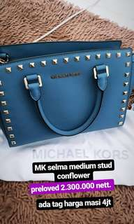 MICHAEL KORS SELMA STUD comflower