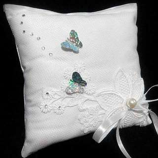 Handmade craft (wedding ring pillow)
