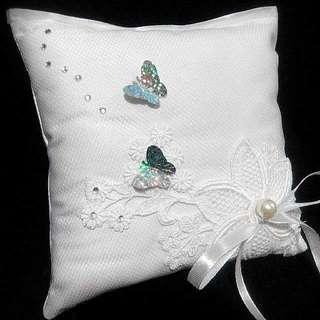 Handmade craft (wedding ring pillow)