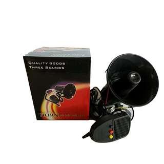 CYA-208 Car Sound System Siren  Horn Police {3 Sounds}