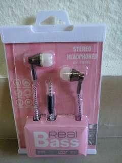 BASS Stereo Earpiece