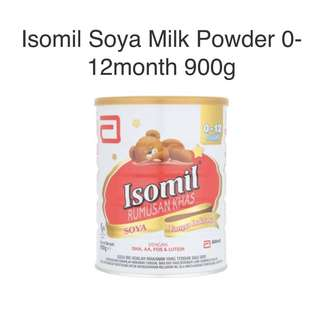 🚚 Isomil Soya milk for 0-12 months old