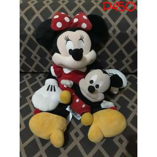 Preloved Disney Mickey and Minnie Mouse