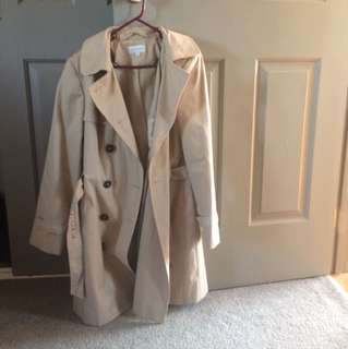 Classic Trench Coat NWOT