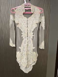 Set Kebaya (with Songket and Bustier) size S