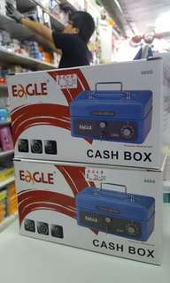 太子店 夾萬仔 小型錢箱 密碼鎖匙兩用 錢幣收藏Eagle Cash Box