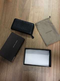 Bottega Veneta Wallet Black Zip wallet