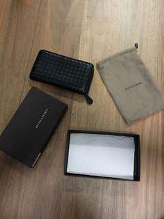 Bottega Veneta Wallet Black Zip wallet