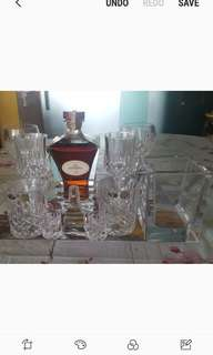 70 year old Fransac cognac with accessories