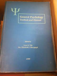 General Psychology Textbook and Manual