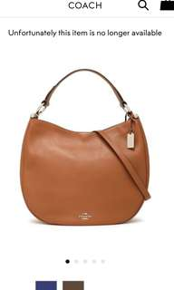 Coach shoulder bag cross-body bag
