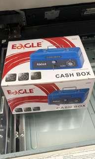 Eagle 668S 小型錢箱 夾萬仔 散銀錢幣收納 Cash box