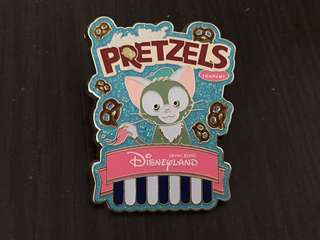 Disneyland Pin 徽章 Pretzels Gelatoni