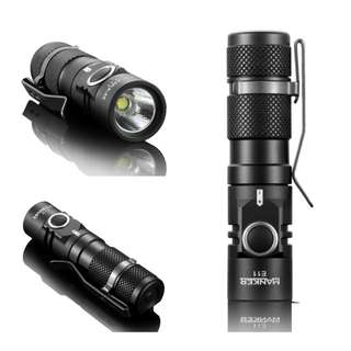 (In-Stock) Manker E11 800 Lumens Mini Pocket EDC Flashlight - Use AA / 14500 Battery
