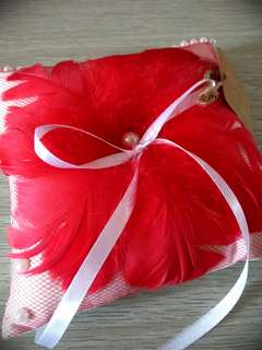 Handmade craft(wedding ring pillow)