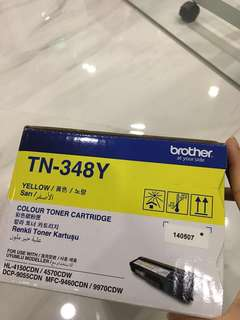 Printer TN348Y & TN348M Toner