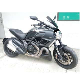 14 Ducati Diavel Chromo ABS (Jun 2014)