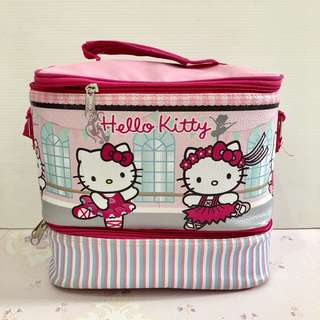 Preloved Hello Kitty Lunch Bag Double Decker