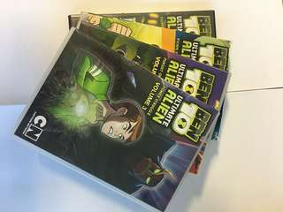 Ben 10 Ultimate Alien Volume 1 to 3