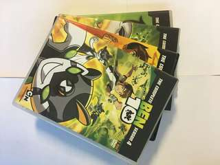 The Complete Ben 10 Season 1 to 4