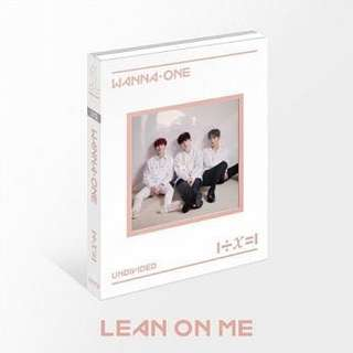 收 Wanna one lean on me 河成雲 sungwoon set