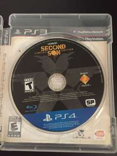 PS4 Infamous Second Son (Used)