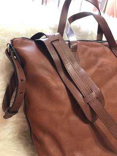 MNG Mango Crossbody / Sling Handbag in Brown