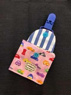 🚚 寶寶平安符袋 (彩色汽車日本布料)